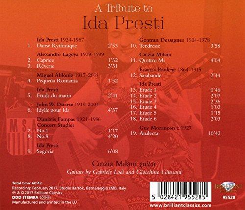 A Tribute to Ida Presti-Music for Solo Guitar - Bild 2