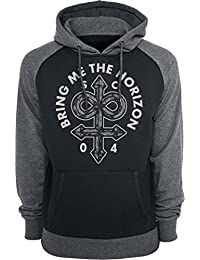 Bring Me The Horizon Infinite Unholy Sweat à capuche noir/gris