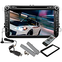 Pupug Stereo 8 pulgadas Android 4.2 HD DVD del coche reproductor de v¨ªdeo digital GPS TV 3G para VW Volkswagen Touran Tiguan Golf 6 MK5 Passat