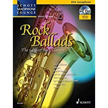 Rock ballads (14 best rock ballads) +CD --- Saxophone Alto (Mib) / Piano