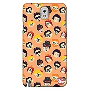 Hipster People - Nutcase Designer Samsung galaxy N3 Case Cover