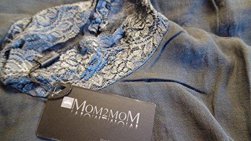 Purpless Maternity Robe longue en tunique Tailles :  20 Gris - Gris anthracite foncé