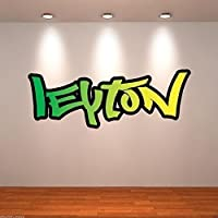 Personalised Graffiti Name Full Colour Wall Art Sticker Transfer Print Bedroom WSD172