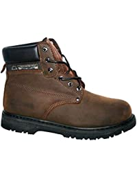 d7ed3caed2c99 Amazon.co.uk: Brown - Work & Utility Footwear / Men's Shoes: Shoes ...