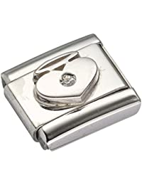 Nomination 032115/11 Stainless Steel Bead 3YvDYB6OCq