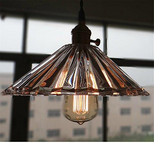 WAWZW Hängeleuchte Deckenleuchte Lampe Kristall Glas Single Head Veranda Flur Garderobe Hängeleuchten
