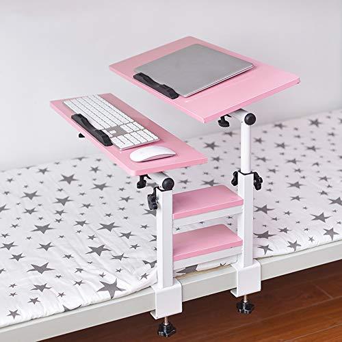 DPS&RXX Universal Swivel TV Tray Table - Laptop-Schreibtisch Verstellbarer, tragbarer Ständer Laptoptisch Mobiler übergroßer drehbarer...