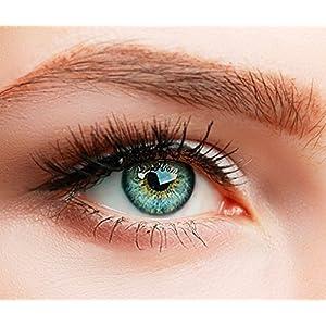 """ELFENWALD farbige Kontaktlinsen, Produktreihe """"SUPREME"""", hoch deckend, besonders natürlicher Look, inkl. Behälter"""