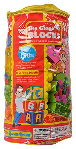 PA Toys Toyzone Puzzle Block 60 Piece Game for Kids Play and Birthday Gift (The Giant Blocks)