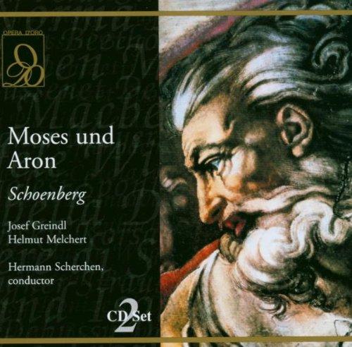 Schoenberg : Moses und Aron. Scherchen, Greindl