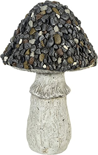 "Gartenfigur ""Pilz mit Steinen"" - Garten, Figur, Pilz"