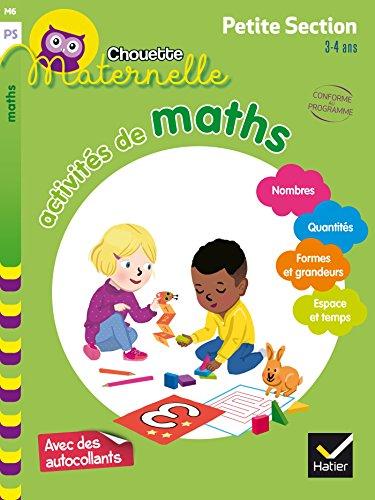 Activités de maths Petite Section par Evelyne Barge
