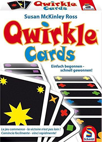 Preisvergleich Produktbild Schmidt Spiele 75034 - Qwirkle Cards