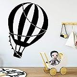 yaoxingfu Globo de Aire Caliente Pegatinas de Pared Etiqueta engomada Decorativa decoración para el hogar extraíble Etiqueta de la Pared decoración Accesorios Mu42cm X 58cm