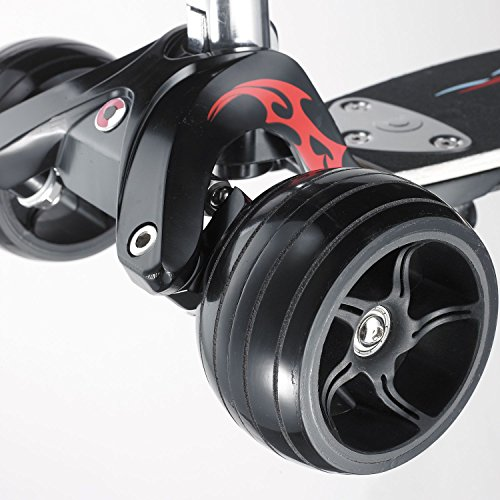Micro Kickboard Monster Tribal Tretroller 3-Wheel -