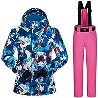 KARTELEI Wasserdichte Damen Skijacke Wintermantel für Regen Schnee Outdoor Wandern
