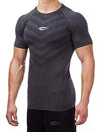 Smilodox Herren Seamless T-Shirt Passion