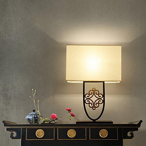 Aike moderno orientale lampada da tavolo in ferro battuto classica per l'hotel soggiorno lampada decorativa scrivania