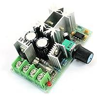 sourcingmap® Regolatore velocità ventilazione motore auto PWM DC 10-60V 20A 1200W
