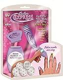 #1: CHETAX Salon Express Professional Nail Polish Art Kit Decals Paint Stamp