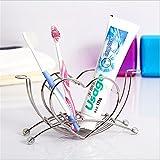 Best Douches portables interDesign - Porte-brosse à dents de mode en acier inoxydable Review