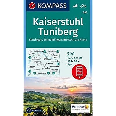 Kaiserstuhl/tuniberg 883  1/25.000