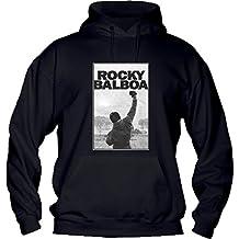 più recente 6ddc4 47eb5 Amazon.it: rocky balboa felpa