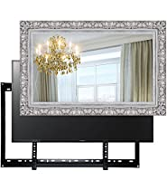Handmade Framed Mirror TV with Sony XYZ to Blend this Hidden Mirrored Television into Your Home or Business Decor