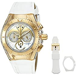 TechnoMarine TM-115004 - Reloj de cuarzo unisex, color blanco
