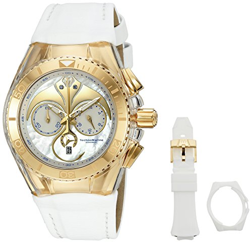 technomarine-unisex-quartz-watch-with-white-dial-chronograph-display-and-white-silicone-strap-tm-115