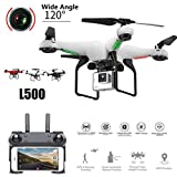 Momola L500 Remote Control Aerial Drone Aircraft with 720P WiFi FPV Wide 0.3MP HD Camera 2.4GHz 6 Axis RC Quadcopter Selfie Drone Helicopter Flying Toy