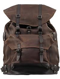 MON LEGIONNAIRE Sac à dos en cuir Vintage couleur INDUS' sac randonnée PAUL MARIUS