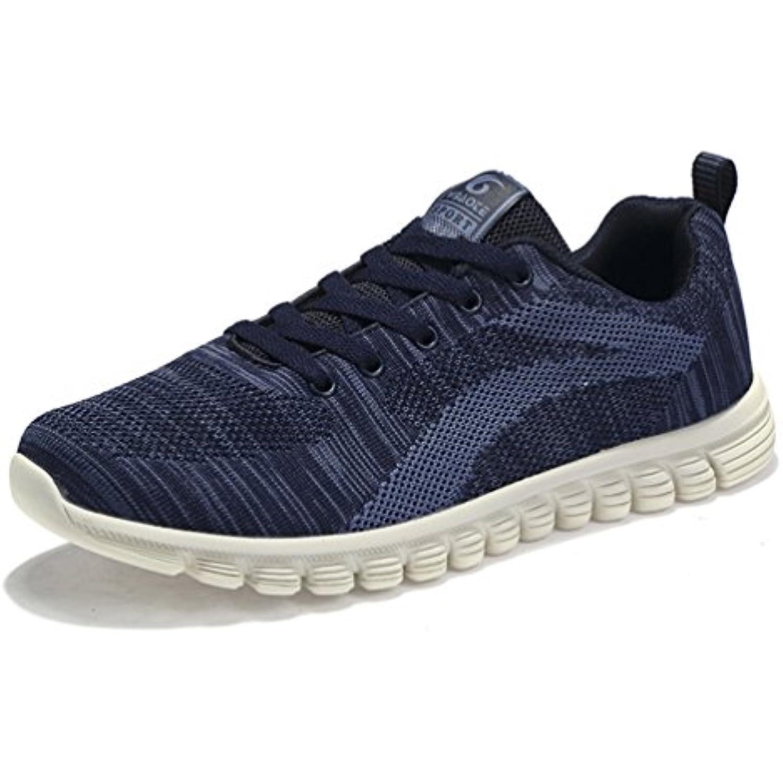 online store c83fe 9260c Homme chaussure de course textile running jogging voyage textile course  basse chaussure de sport d