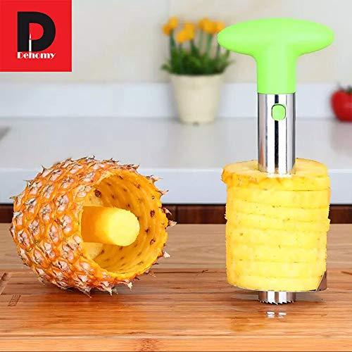 Xie 2 pezzi macchina da taglio manuale in acciaio inox creativo corer ananas pelapatate taglierina frutta e verdura gadget accessori per la cucina