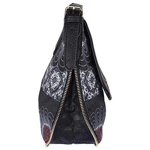 Desigual Umhängetasche Schultertasche Shoulder Bag BOLS GENOVA BARBADOS 72X9EW3 Rot