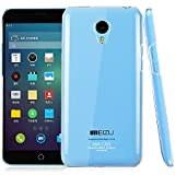 Newtronics Imak Crystal Clear Transparent Bumper Hard Back Cover Case For Meizu M1 Note