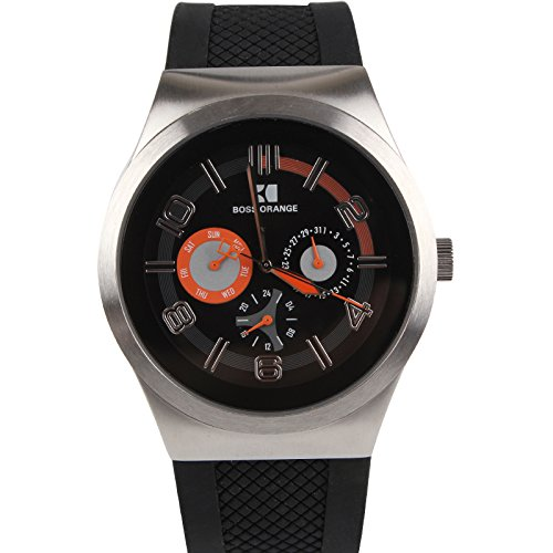 Boss Orange Unisex Analogue Watch with black Dial Analogue Display - 1512762