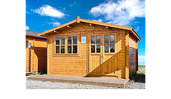 Gartenhaus Norwegen 28mm 400x400 Cm 4x4 M Geratehaus Holzhaus