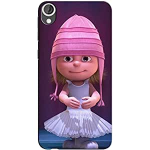 PINK DOLL BACK COVER FOR HTC 826