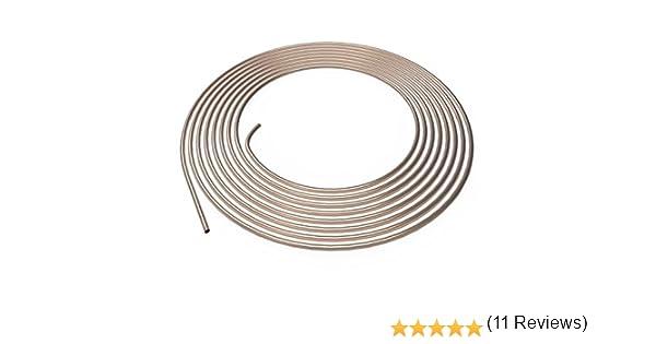 1m metro 10m selezione Tubo di Freno /Ø 4,75 mm Rame-Nickel Tubi dei Freni di Cupronickel 1m