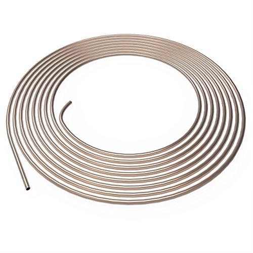 Bremsleitung Ø 4,75 mm Kupfer / Nickel Kunifer 1m 2m 3m 5m oder 10m Auswahl: (5 Meter) (3 8 Stahl Bremsleitung)