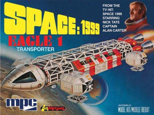 Space 1999 Eagle Aquila Spazio 1999 Eagle Transporter Plastic Kit
