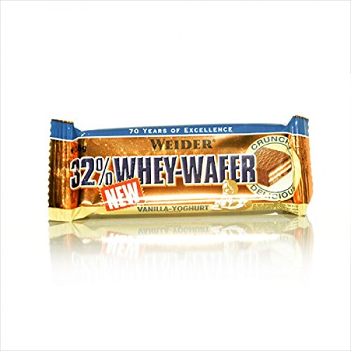 Protein Wafer (Weider 32% Whey-Wafer (30 x 35g Riegel Box) BIG BOX , MIX BOX)