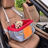 XUXIAOXU666-Backpacks Dog Car Seat, Pet Portatile Viaggiare sede del Sacchetto di Sicurezza, Impermeabile Carrier Borsa da Viaggio Cage Protector Viaggio, Accessori da Viaggio