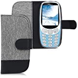 kwmobile Wallet Case for Nokia 3310 3G 2017 / 4G 2018 -