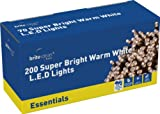 Brite Ideas Festive Productions 200 LED Lights - Warm White