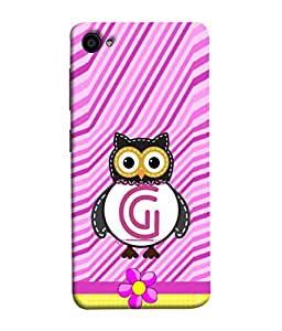 PrintVisa Decorative G 3D Hard Polycarbonate Designer Back Case Cover for Lenovo ZUK Z2 :: Lenovo ZUK Z2 Plus