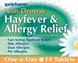 GALPHARM Loratadine 10mg Hayfever and Allergy Relief One-a-Day Tablets 14