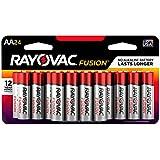 RAYOVAC 815-24SCTFUS FUSION Long-Lasting Alkaline Batteries (AA, 24 Pk)
