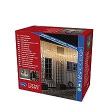 Konstsmide 2374-800 Guirlande à LED pour Terrasses Verre, 4 W, Clair
